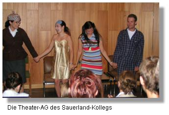 Theater-AG des Sauerland-Kollegs