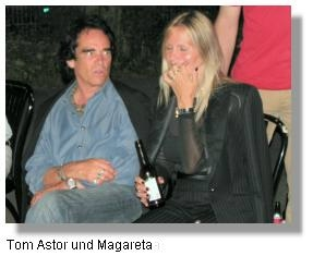 Magareta mit Tom Astor